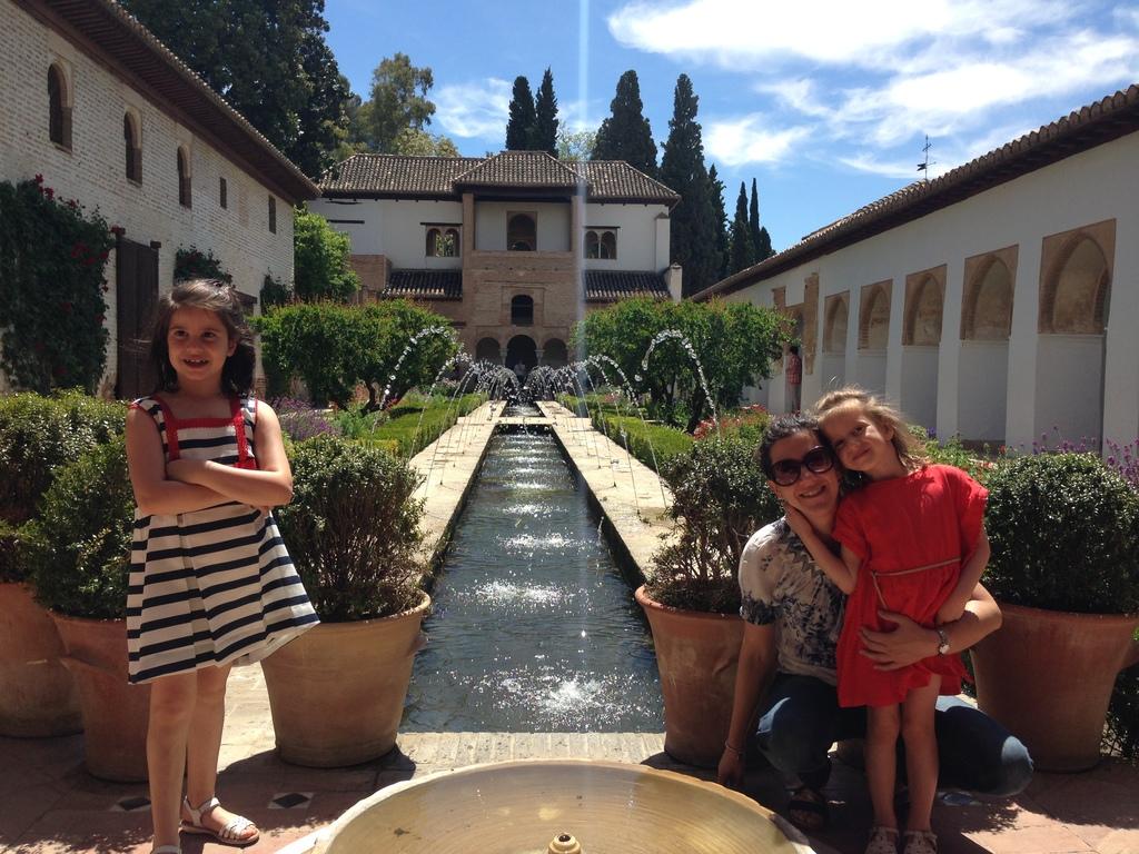 En los Jardines del Generalife (Alhambra)