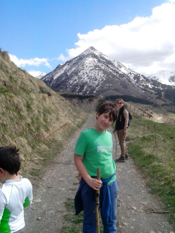 Hiking in the Pyrinees.