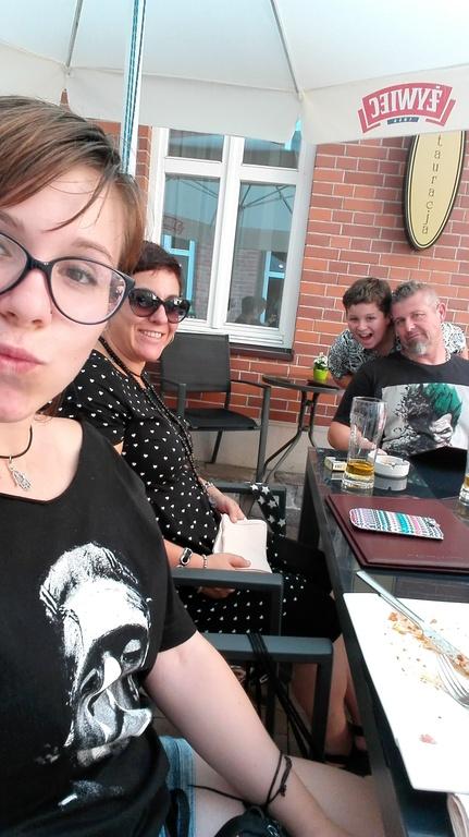 Toda la familia en nuestro primer intercambio en Polonia