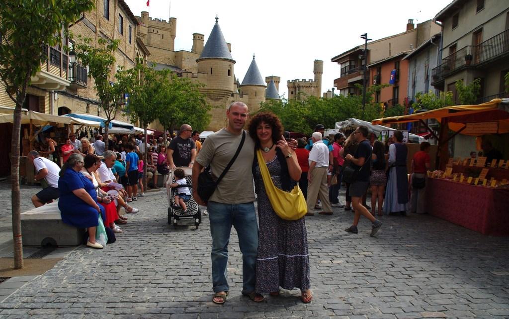 En la fiesta medieval de Olite