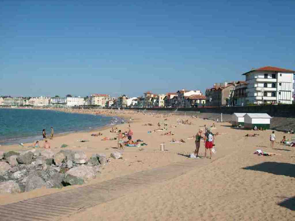 Saint Jean de Luz (France) -beach