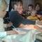 enseñando a pintar, nuestros futuros artistas