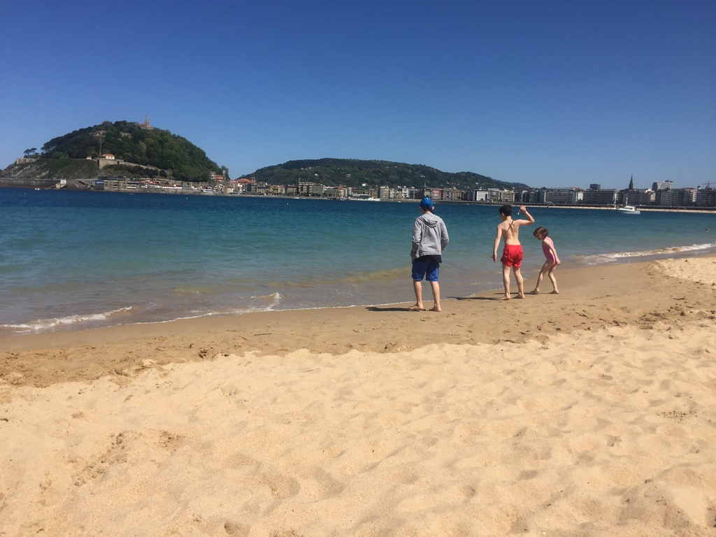 Donostia San Sebastian beach, best beach in europe and 6th of the world (tripadvisor source 2017)