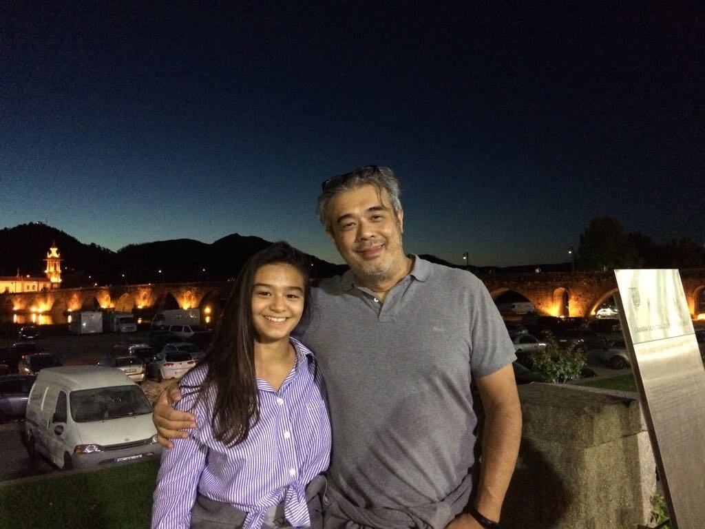 Jorge y Jimena en Ponte de Lima