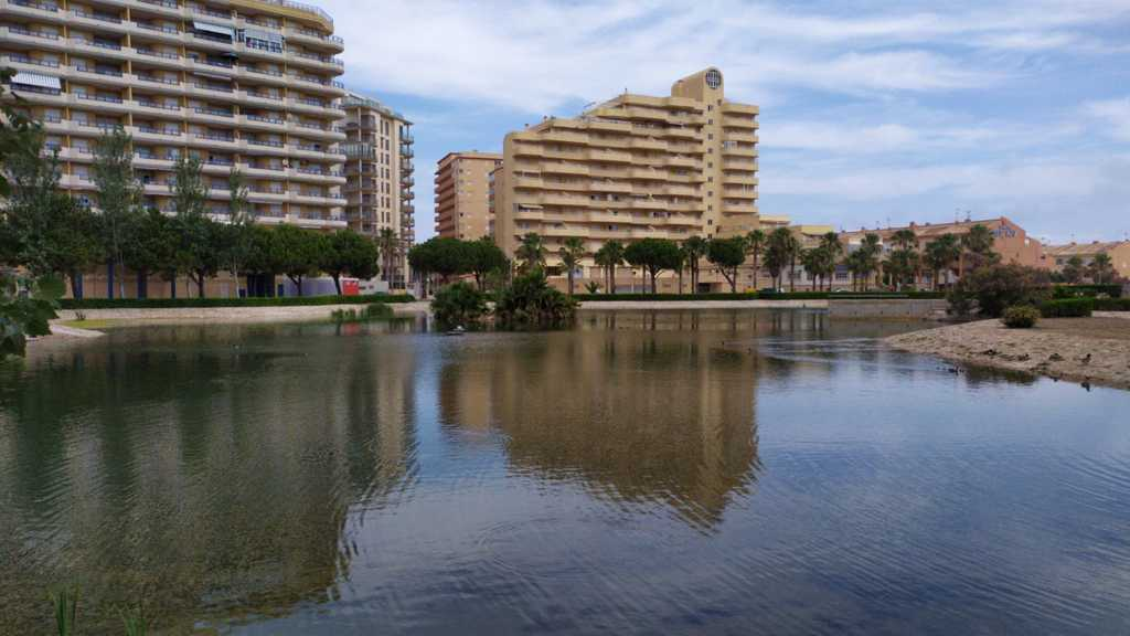 Lago Azul in Tavernes beach