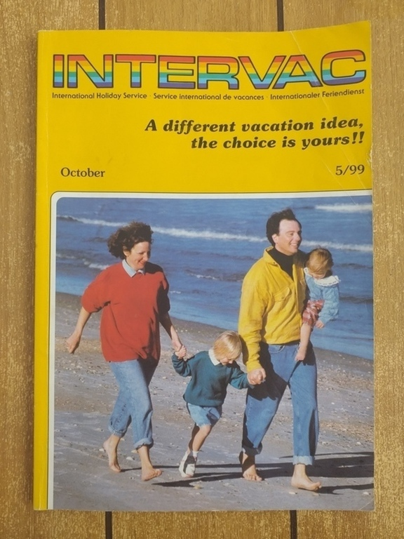 Portada de la revista de Intervac en los comienzos de mis padres