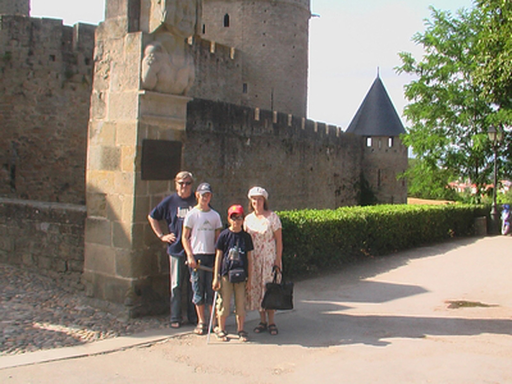 Visiting Carcassonne in 2009