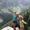 rando en montagne avec Pauline