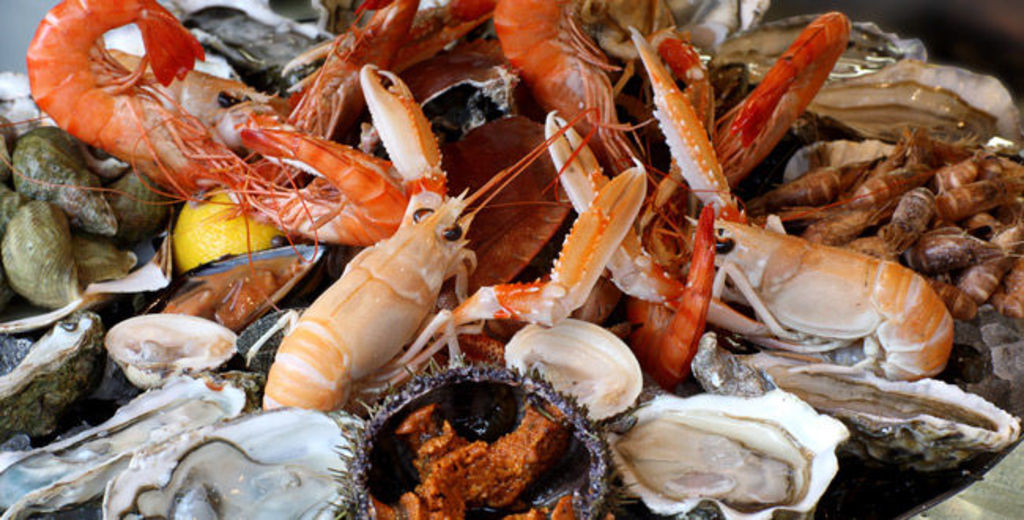 Lovely seafood