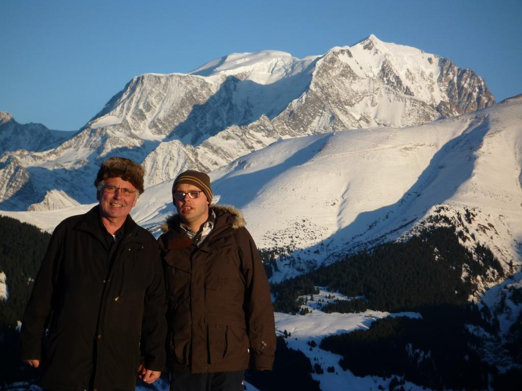 en vacances a Noel dans les Alpes