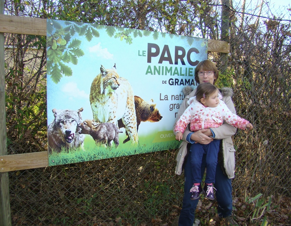animal parc gramat 45 minutes from our house