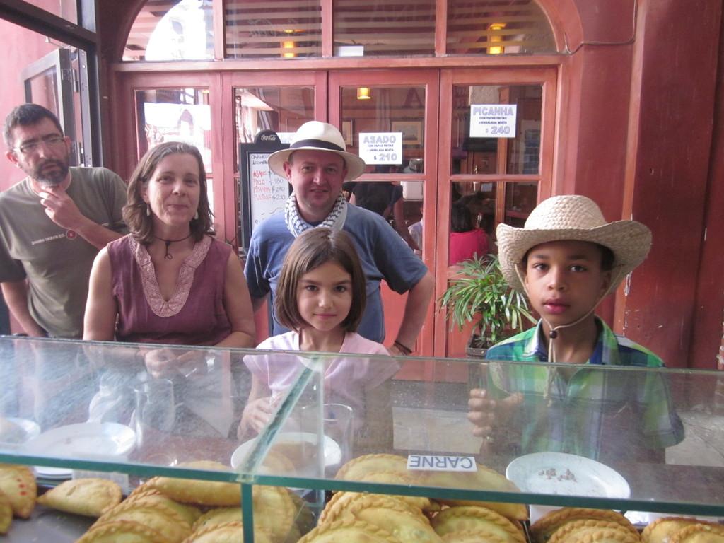 Photos de famille lors de notre dernier échange en Uruguay