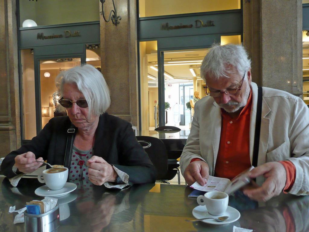 Ursula et Henri à Rome