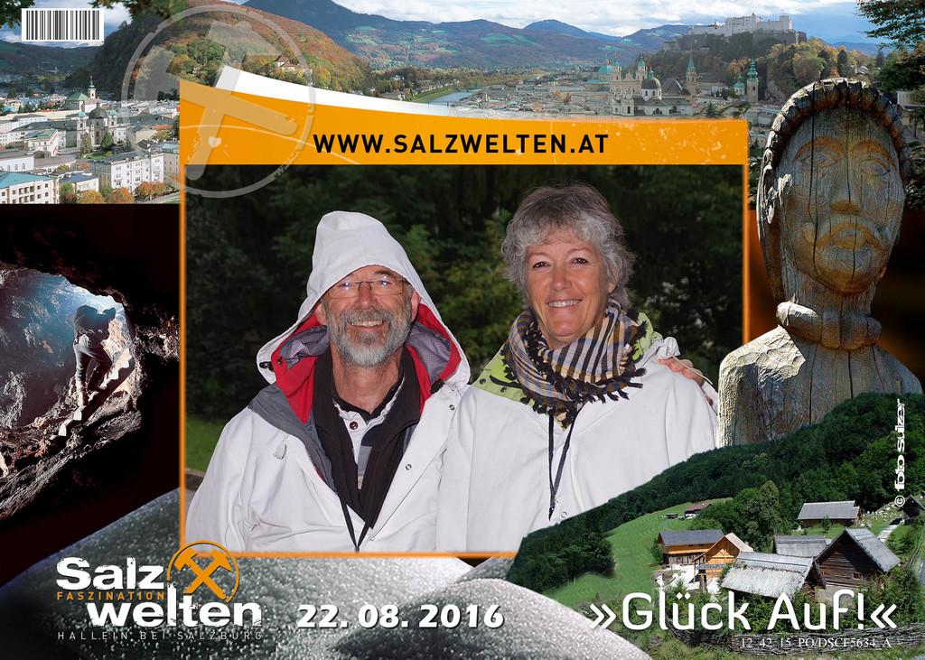 Les mines de sel à Hallein (Salzburg), Autriche 2016