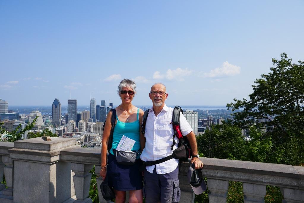 De l'esplanade de Mont Royal à Montréal (Province du Québec), Canada 2019