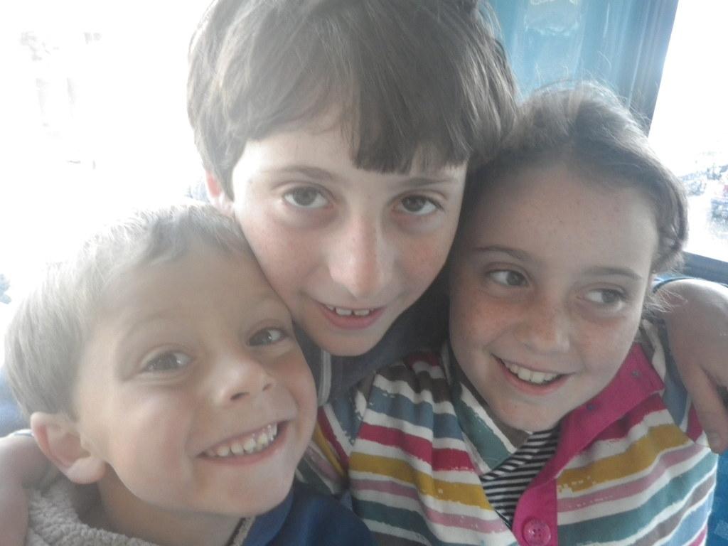 Daniel, Joe and Laura