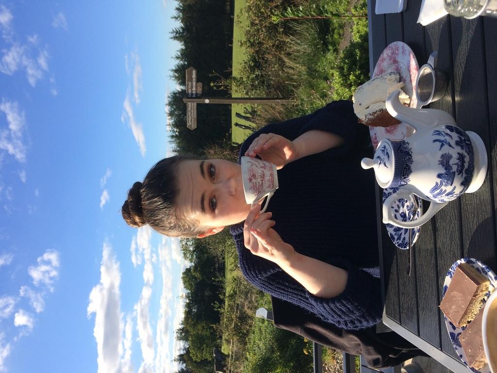 Tea at Canada Wood, Falkirk