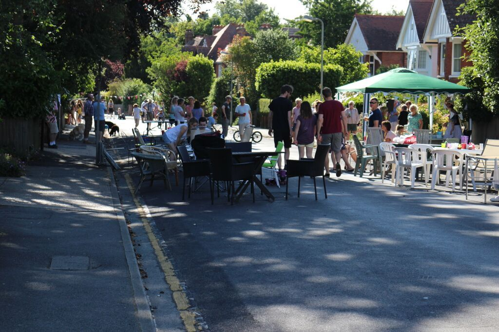 our third street party july 2015