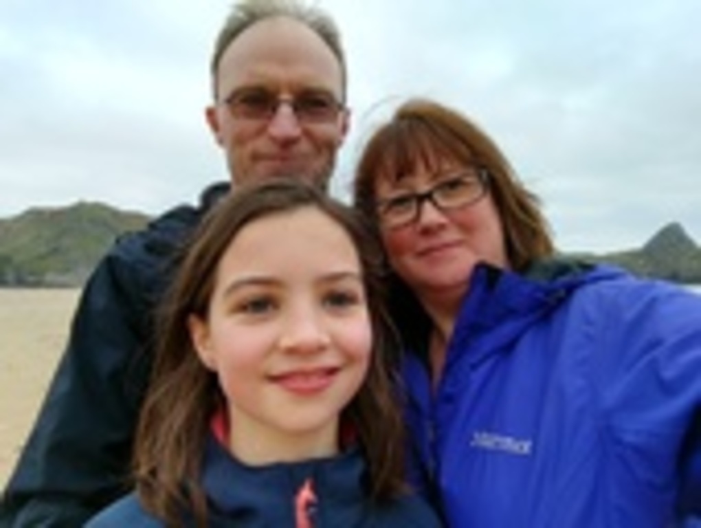 John, Rachel & Tirzah