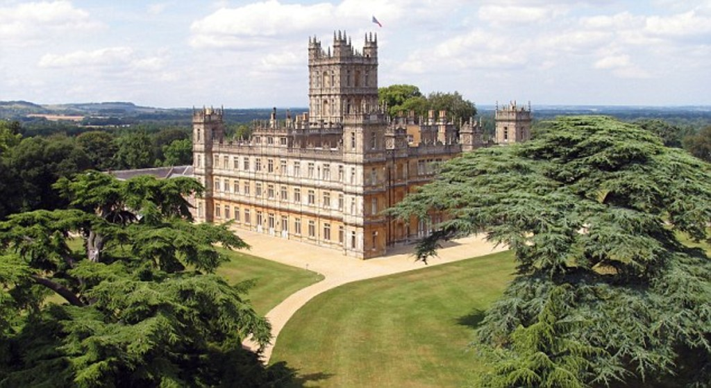 Highclere Castle - Home to the making of Downton Abbey