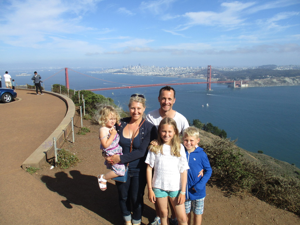 San Francisco, summer 2015 Intervac house exchange