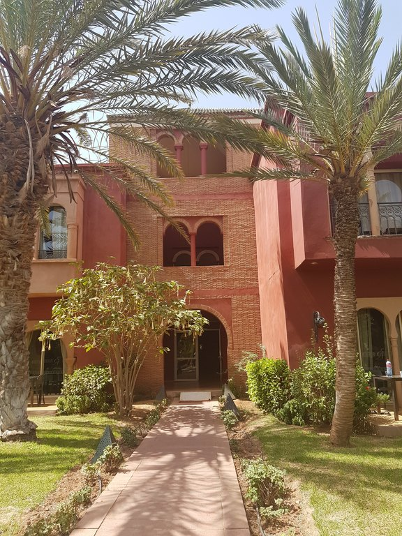 Enjoying my stay in Morocco
