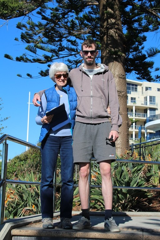 Sue and Tom, Wollongong, NSW, Australia