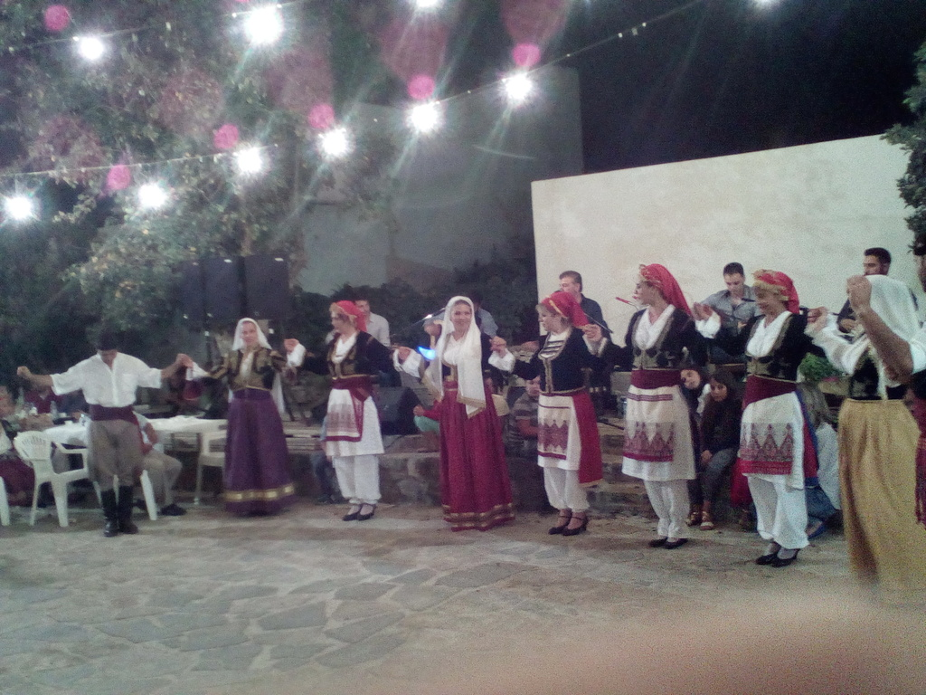 traditional kretan dances in our villange