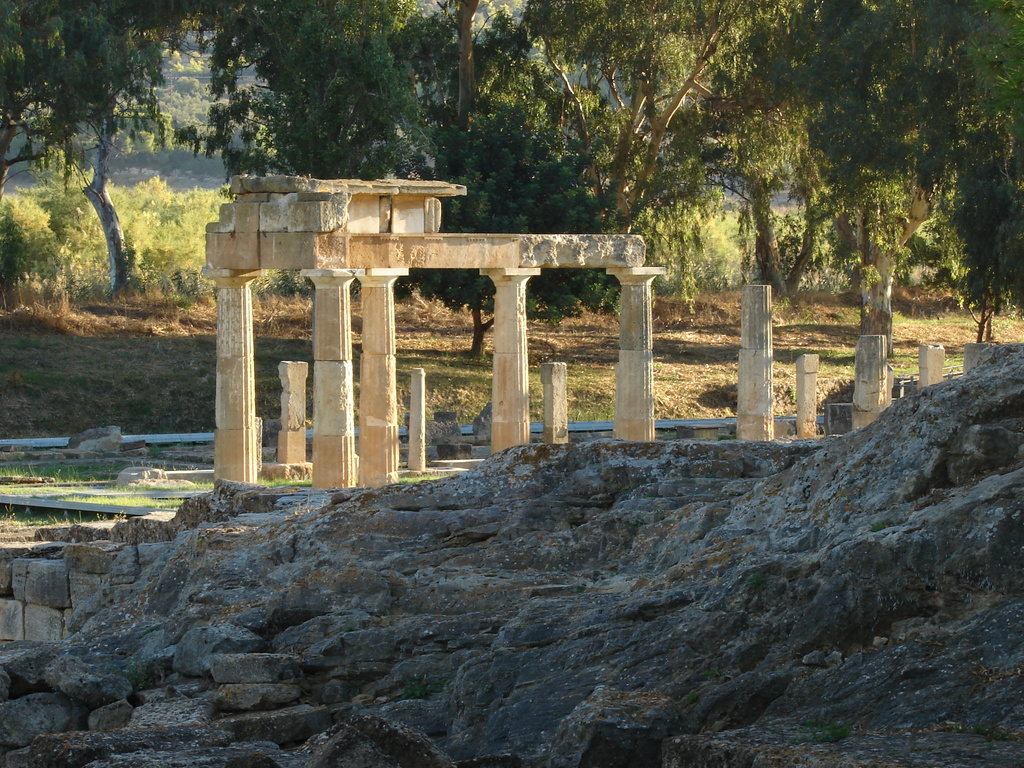 Artemis ancient temple,6km from the house