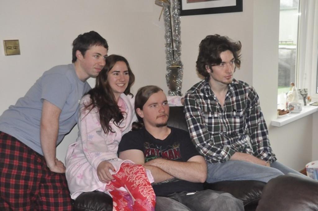 Sean(A's husband) A, R, & Conor