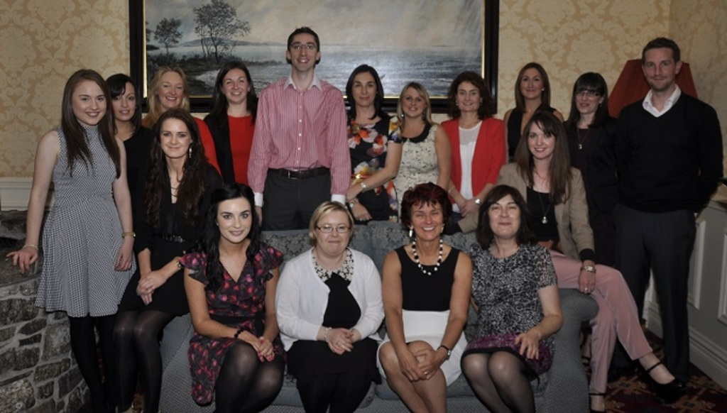 Emer's Staff on the occasion of her retirement function