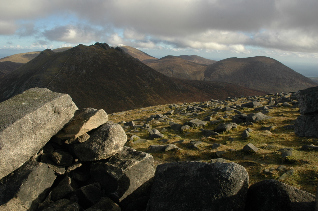 County Down is full of walking trails in the mountains, forest and by lakes and the sea.