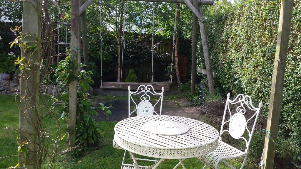 back of garden