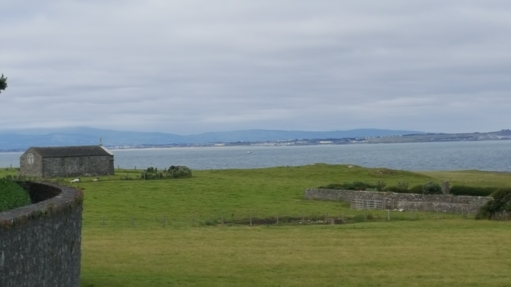 view of Rush from Lambay Island