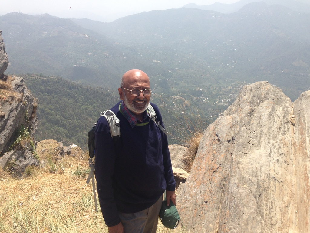 Ravi walking in Kumaon