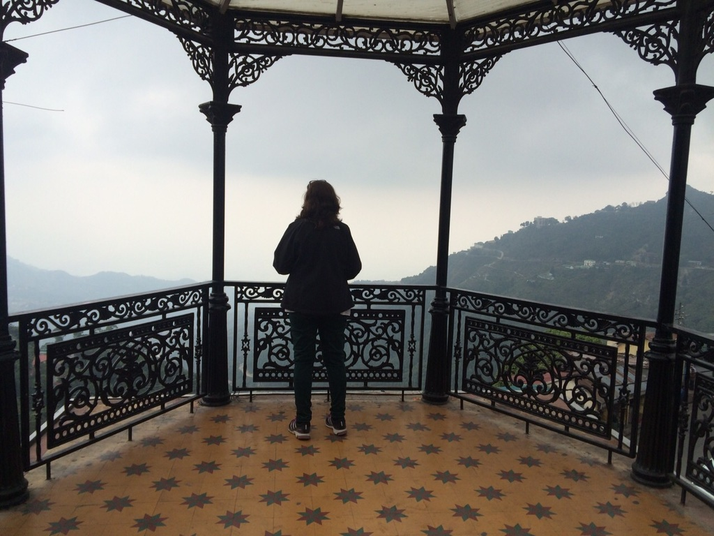 Walking in Mussoorie