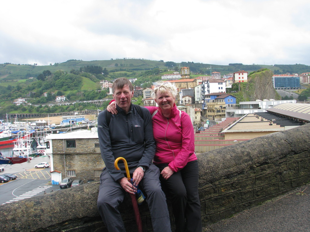 Hallgrimur and Kristin in North of Spain