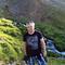 Arnar hiking in the Westfjords
