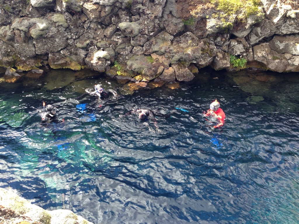 Scuba diving in Silfra - Thingvellir national part. 1hr drive from Reykjavik