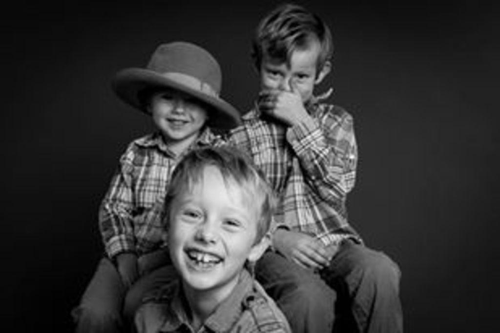 Our three boys