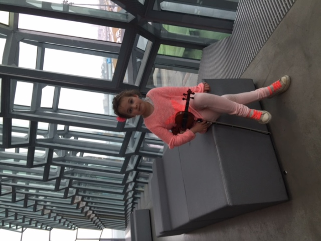 Performing in Harpa Concert hall