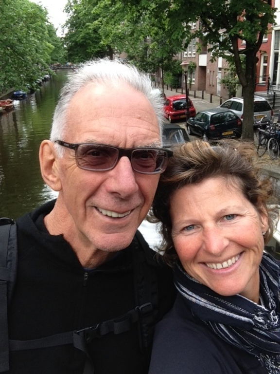 Larry and Ronda in Amsterdam