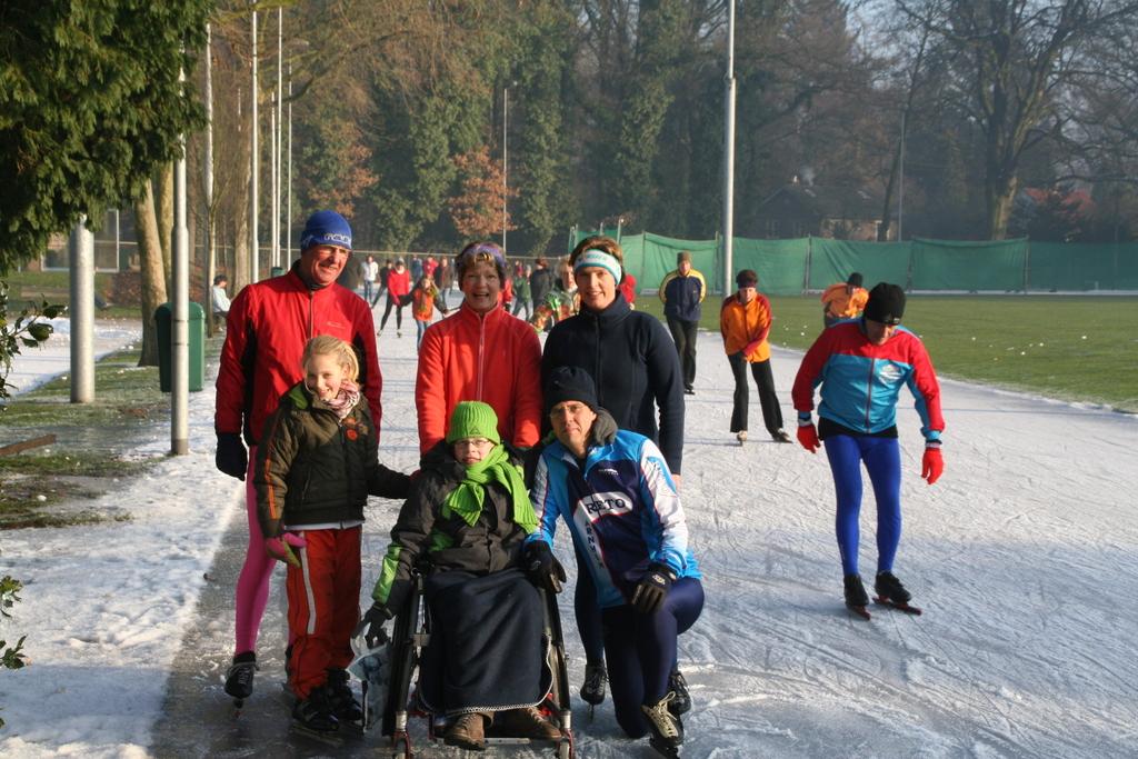 Schaatsen op lokale ijsbaan