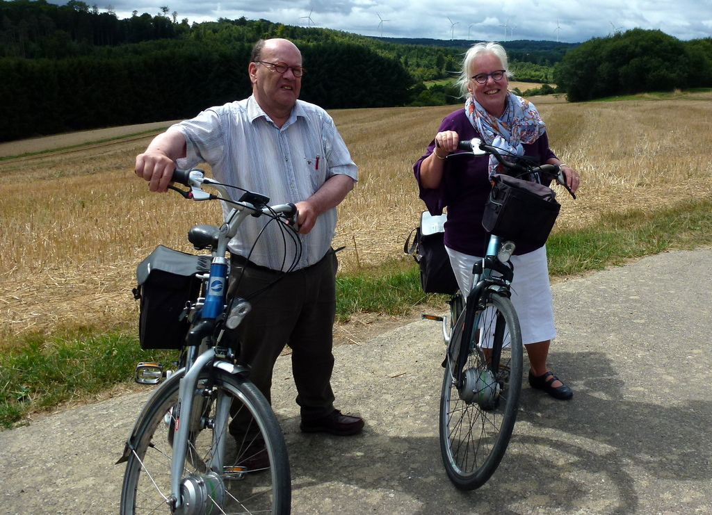 We have E-bikes and love to make trips and enjoy the lovely countryside