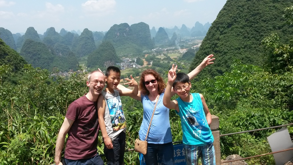 Familypicture 2016 travelling in China