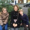 Petra, Kaat and Ries autumn 2015, home-exchange with Berlin
