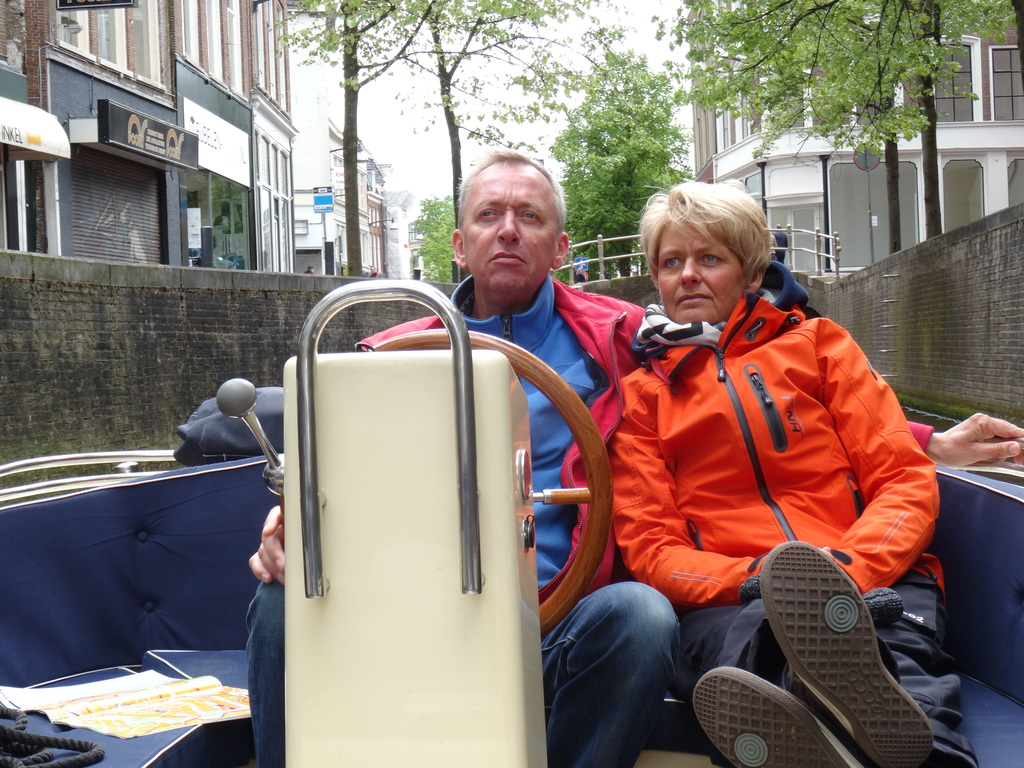 Married for 25 years, sailing through Leeuwarden