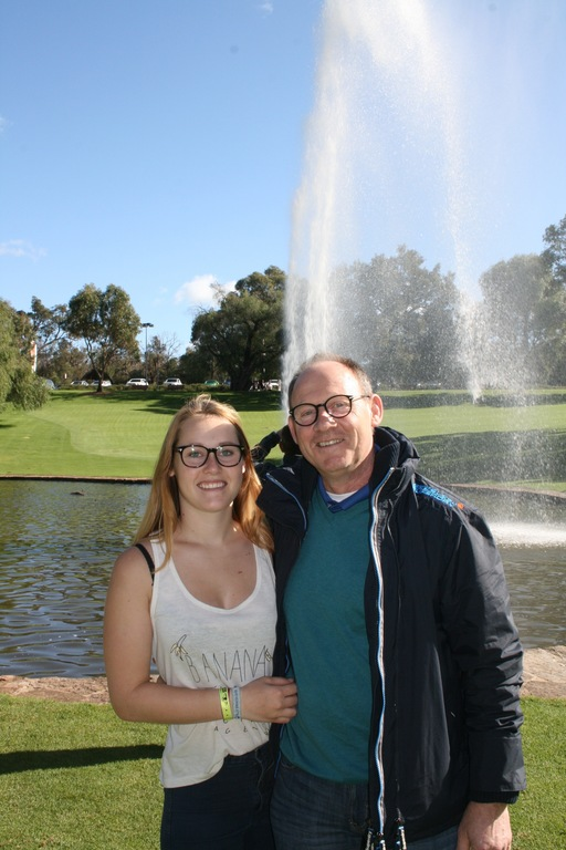 Leoni and Nico. Perth Australia summer exchange