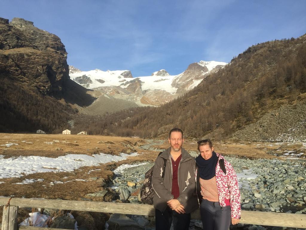 Italian Alps (dec 2015); Marcel and Maaike