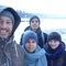 Iceland (Xmas 2017), Marcel, Maaike, Lucas en Fenna